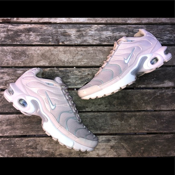 Nike Shoes | Nike Air Max Plus Tn Gs Barely Rose Pink Shoes | Poshmark